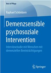 Cover Demenzsensible psychosoziale Intervention