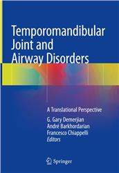 Cover Temporomandibular Joint and Airway Disorders