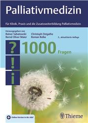 Cover Palliativmedizin - 1000 Fragen