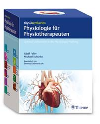 Cover physioLernkarten - Physiologie für Physiotherapeuten