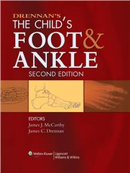 Cover Drennan's The Child's Foot and Ankle