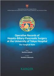Cover Operative Records of Hepato-Biliary-Pancreatic Surgery at the University of Tokyo Hospital