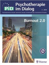 Cover Psychotherapie im Dialog - Burnout