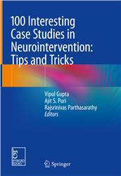 Cover 100 Interesting Case Studies in Neurointervention