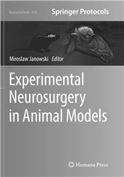 Cover Experimental Neurosurgery in Animal Models