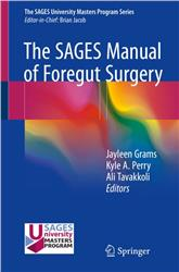 Cover The SAGES Manual of Foregut Surgery