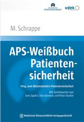 Cover APS-Weißbuch Patientensicherheit