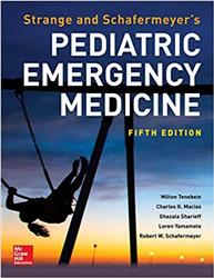 Cover Strange and Schafermeyers Pediatric Emergency Medicine