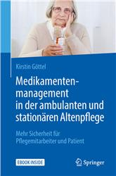 Cover Medikamentenmanagement in der ambulanten und stationären Altenpflege
