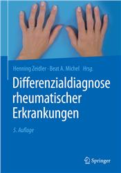 Cover Differenzialdiagnose rheumatischer Erkrankungen