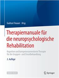 Cover Therapiemanuale für die neuropsychologische Rehabilitation