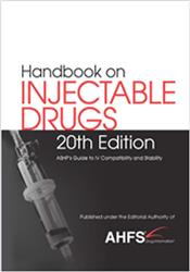 Cover Handbook on Injectable Drugs (R)