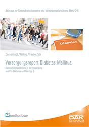 Cover Versorgungsreport Diabetes Mellitus