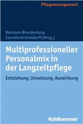 Cover Multiprofessioneller Personalmix in der Langzeitpflege