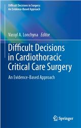 Cover Difficult Decisions in Cardiothoracic Critical Care Surgery