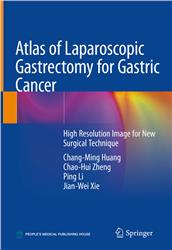 Cover Atlas of Laparoscopic Gastrectomy for Gastric Cancer