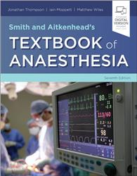 Cover Smith and Aitkenhead's Textbook of Anaesthesia