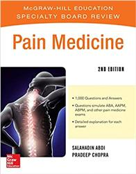 Cover McGraw-Hill Specialty Board Review Pain Medicine, 2e