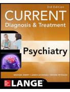 Cover Current Diagnosis & Treatment Psychiatry