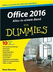 Cover Office 2016 für Dummies Alles-in-einem-Band