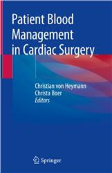 Cover Patient Blood Management in Cardiac Surgery