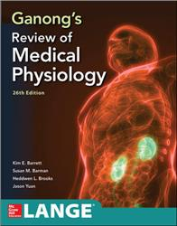 Cover Ganongs Review of Medical Physiology, Twenty Sixth Edition