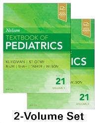 Cover Nelson Textbook of Pediatrics - 2-Volume Set