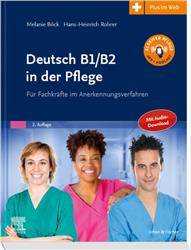 Cover Deutsch B1/B2 in der Pflege
