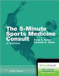 Cover The 5-Minute Sports Medicine Consult
