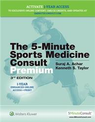 Cover The 5-Minute Sports Medicine Consult Premium