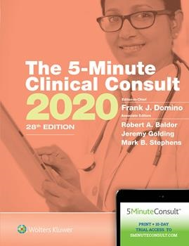 5-Minute Clinical Consult 2020