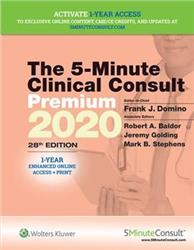 Cover 5-Minute Clinical Consult 2020 Premium