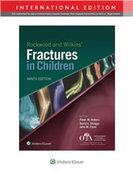 Cover Rockwood and Wilkins' Fractures in Children