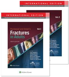 Cover Rockwood, Green, and Wilkins' Fractures Package / 3 Volume Set