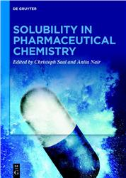 Cover Solubility in Pharmaceutical Chemistry