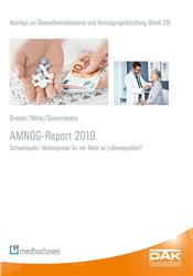 Cover AMNOG-Report 2019