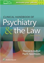 Cover Clinical Handbook of Psychiatry and the Law