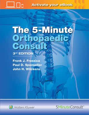 The 5 Minute Orthopaedic Consult