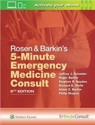 Cover Rosen & Barkins 5-Minute Emergency Medicine Consult