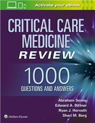 Cover Critical Care Review: 1000 Questions and Answers