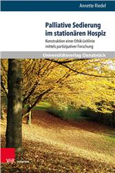 Cover Palliative Sedierung im stationären Hospiz