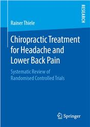 Cover Chiropractic Treatment for Headache and Lower Back Pain