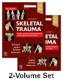 Cover Skeletal Trauma - 2-Volume Set with DVD and Expert Consult Online
