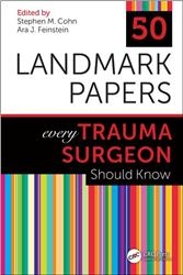 Cover 50 Landmark Papers every Trauma Surgeon Should Know