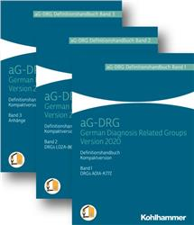Cover G-DRG Definitionshandbuch Version 2020 -3 Bände-