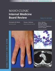 Cover Mayo Clinic Internal Medicine Board Review