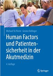 Cover Human Factors und Patientensicherheit in der Akutmedizin
