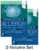 Cover Middletons Allergy 2-Volume Set: Principles and Practice