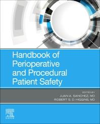 Cover Handbook of Perioperative and Procedural Patient Safety