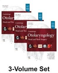 Cover Cummings Otolaryngology: Head and Neck Surgery, 3-Volume Set